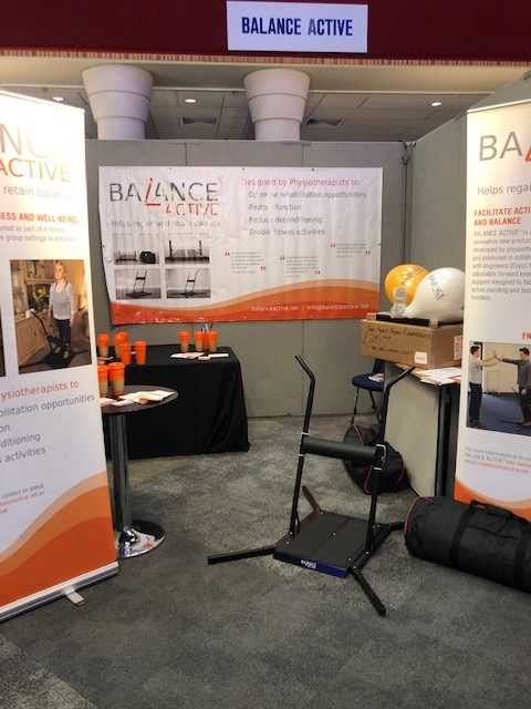 Balance Active physiotherapy exhibition stand