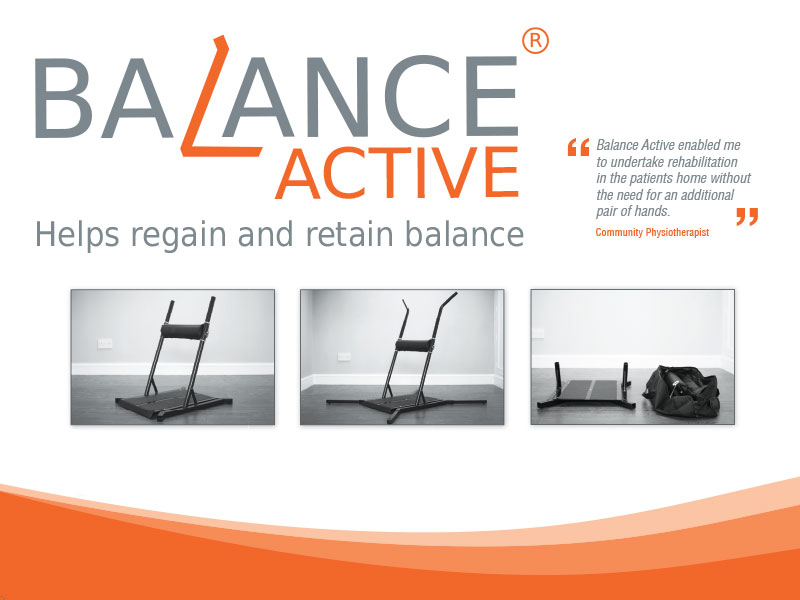 Balance Active physiotherapy equipment banner